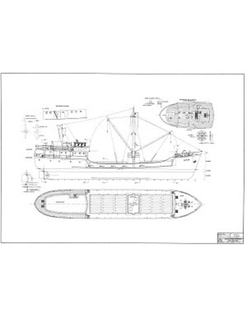 "NVM 10.12.002 kustvaarder ms ""Zephyr"" (1952) - North Westland Shipping Co. Ltd (New Zealand)"