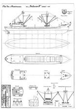 "NVM 10.12.006 kustvaarder ms ""Batavier V"" (1959) - Wm.H. Müller & Co."