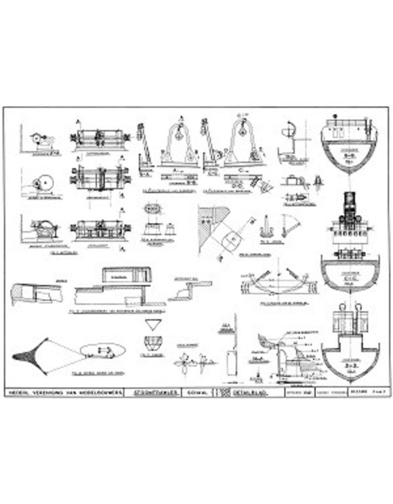 "NVM 10.13.001 stoomtrawler IJM.1""' Tzonne"" (1949) - Visserij Mij Petten II (1951); ex SCH 93"