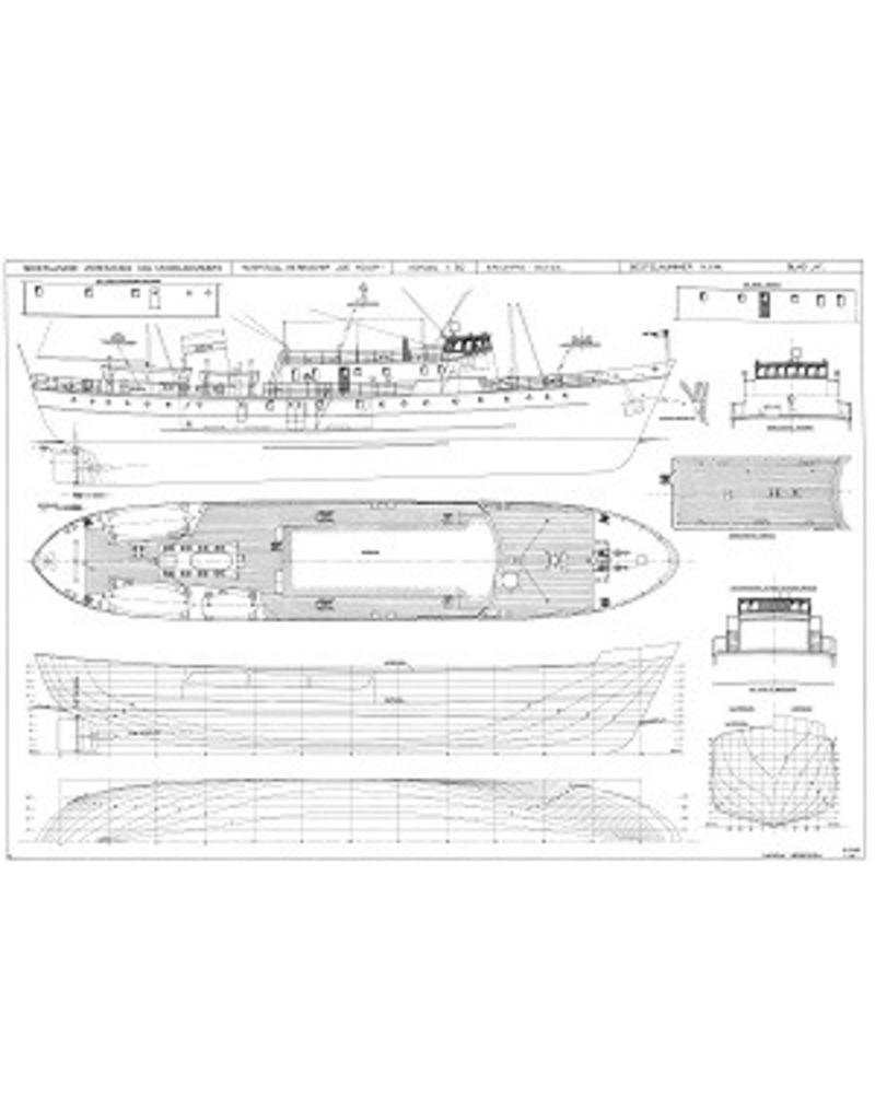 """NVM 10.13.002 hospitaal-kerkschip """"De Hoop"""" (1954) - Ver. Hospitaal Kerkschip """"de Hoop"""""""