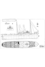 """NVM 10.14.006/A zeesleepboot ss """"Zwarte Zee"""" (II) (1906)"""