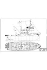 """NVM 10.14.022 kustsleepboot ms """"Baher"""" (1962) - Suez Canal Authority"""