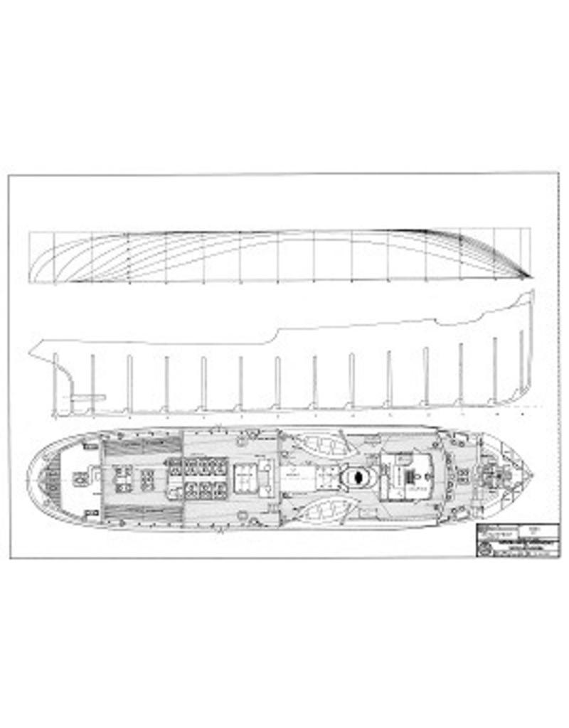 """NVM 10.14.033 zeesleper ss """"Ebro"""" (1931) -L. Smit & Co Intern. Sleepdienst"""