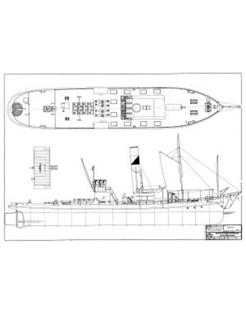 """NVM 10.14.036 rijnsleepboot ss """"Asgard"""" (1916) - Steenkolen Handels Vereniging"""