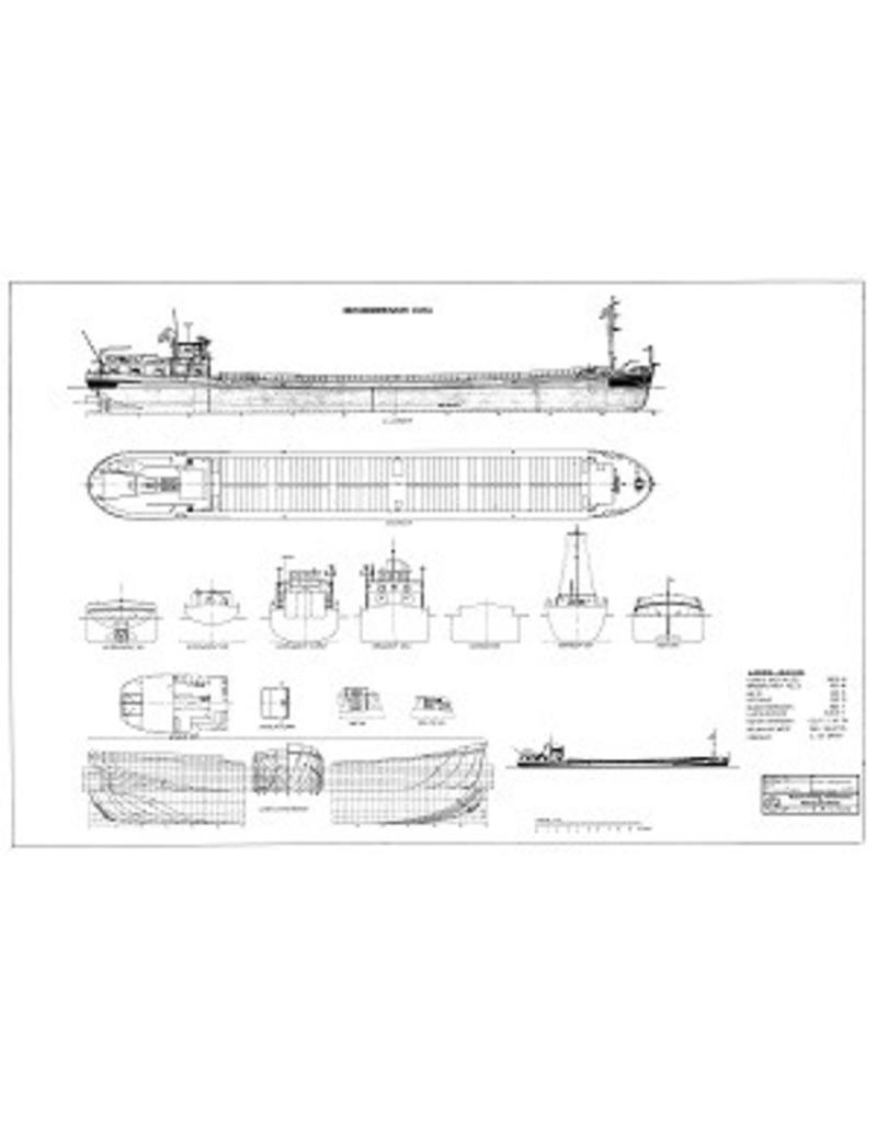 """NVM 10.15.016 motorkempenaar ms """"Elma"""" (1963) - C.J. de Graaf"""