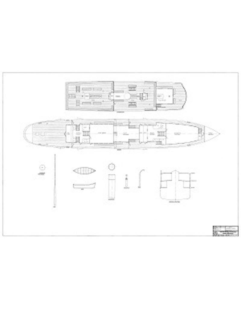 """NVM 10.15.018 passagiersveerboot ss """"Van Wijck"""" (1923) -Veerdienst Enkhuizen-Stavoren (Bosman - Alkmaar)"""