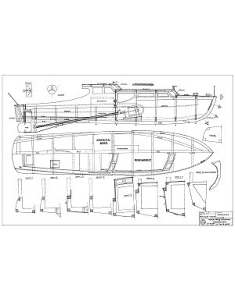 NVM 10.16.022 motorjacht Hinde
