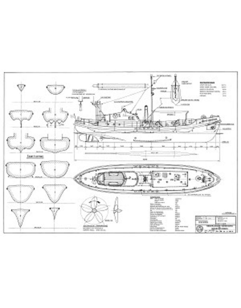 """NVM 10.17.001/B CD-Foto's en beschrijving van de mrb """"Prins Hendrik"""""""