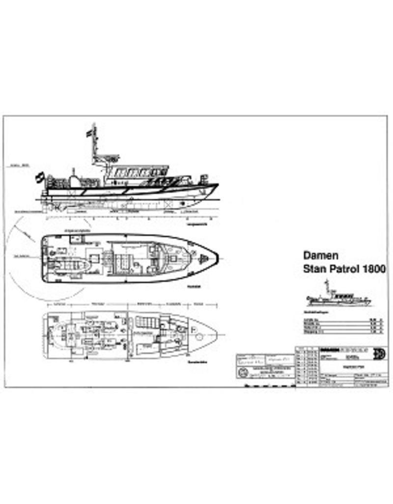 "NVM 10.18.015 politieboot ""RP31"" - Korps Rijkspolitie - Damen Stanpatrol 1800"