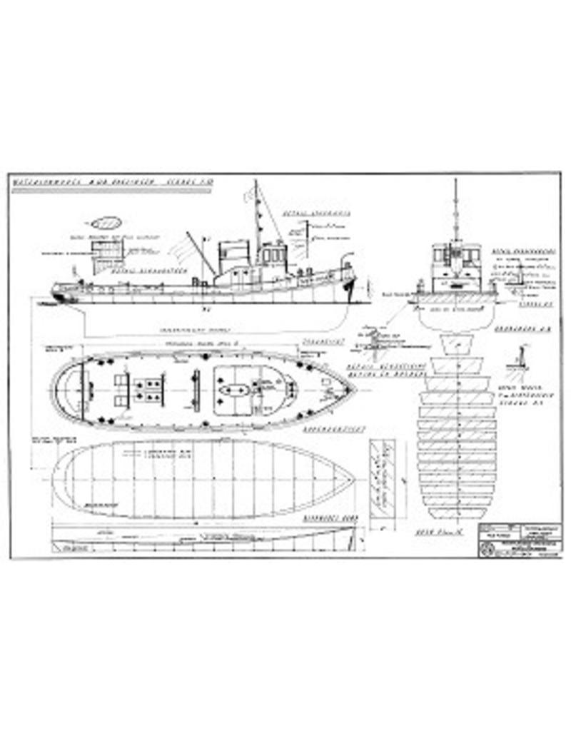 """NVM 10.20.039 havensleepboot ms """"Kralingen"""" (1954) - L. Smit & Co's Intern. Sleepdienst"""