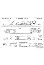 """NVM 10.20.054 vracht-pass.schip ms """" Randfontein"""" (1958) - VNS"""