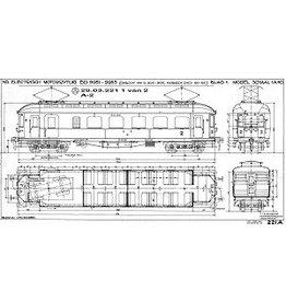 NVM 29.03.221 El. motorrijtuig BD 9951-9953 (voorheen ZHESM 60-62) voor Spoor 0