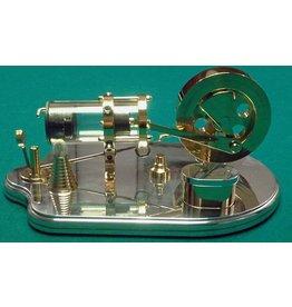 NVM 60.12.023 Vlamhapper met inwendige schuif en glazen cilinder