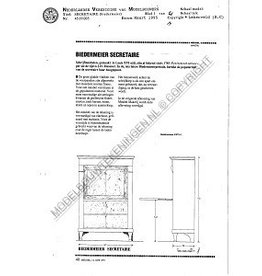 NVM 45.19.005 Biedermeier secretaire