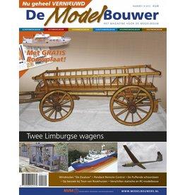 """NVM 95.12.001 Jaargang """"De Modelbouwer"""" Editie : 12.001 (PDF)"""