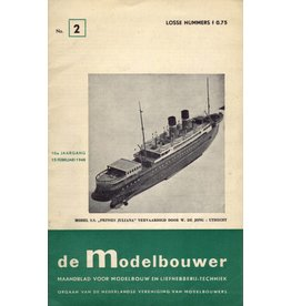 """NVM 95.48.002 Jaargang """"De Modelbouwer"""" Editie : 48.002 (PDF)"""