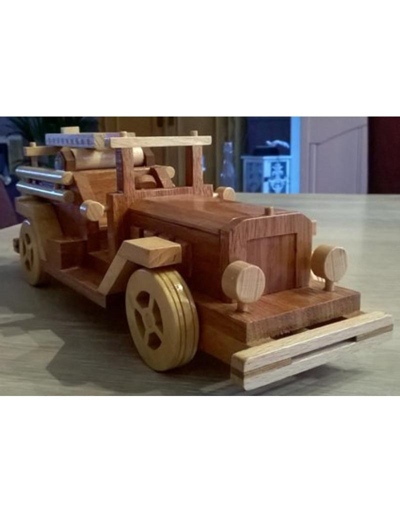 NVM 40.42.015 Brandweerauto in hout