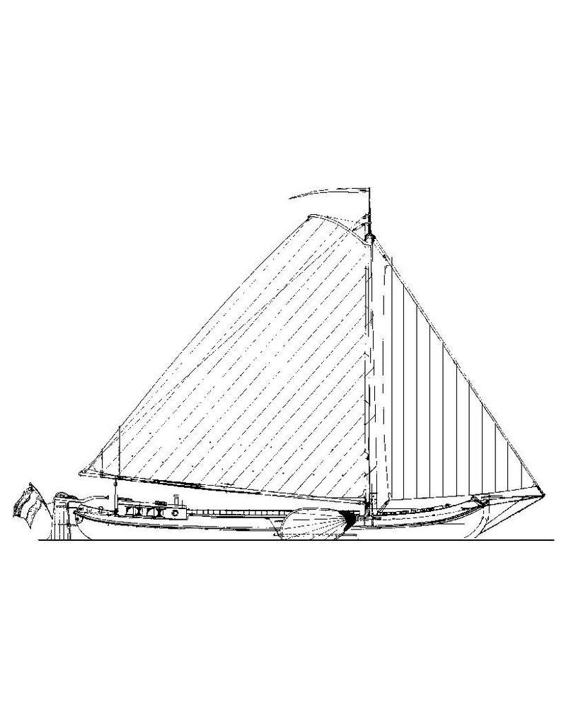 NVM 10.05.002 Skûtsje (eind 19e eeuw)