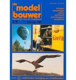 """NVM 95.87.008 Jaargang """"De Modelbouwer"""" Editie : 87.008 (PDF)"""