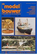 """NVM 95.87.011 Jaargang """"De Modelbouwer"""" Editie : 87.011 (PDF)"""