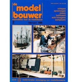 """NVM 95.88.002 Jaargang """"De Modelbouwer"""" Editie : 88.002 (PDF)"""