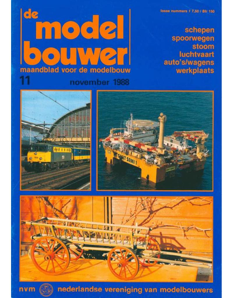 """NVM 95.88.011 Jaargang """"De Modelbouwer"""" Editie : 88.011 (PDF)"""