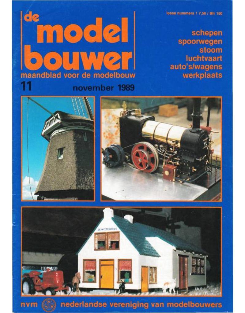 """NVM 95.89.011 Jaargang """"De Modelbouwer"""" Editie : 89.011(PDF)"""