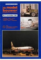 """NVM 95.91.011 Jaargang """"De Modelbouwer"""" Editie : 91.011 (PDF)"""