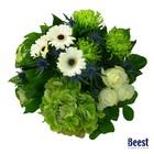 Boeket Hortensia groen