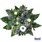 Boeket hyacint paars