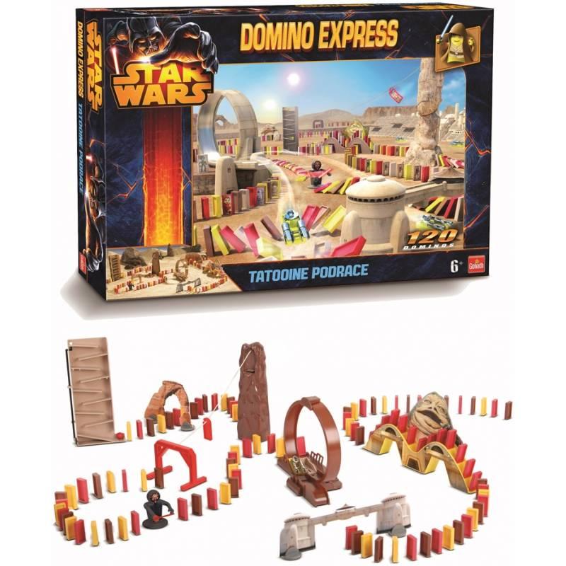 Goliath Domino Express Star Wars Tatooine Podrace
