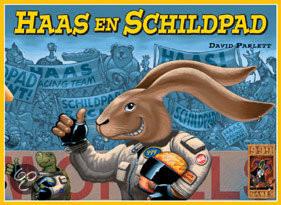 999 Games Haas en Schilpad Bordspel