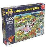 Jan van Haasteren Puzzels Jumbo Jan van Haasteren De Vliegshow Legpuzzel 1500 stukjes