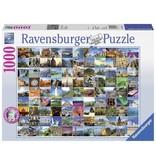 Ravensburger Puzzels Ravensburger Puzzel 99 Mooie Plekken Op Aarde 1000 stukjes