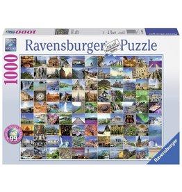 Ravensburger Puzzels 99 Mooie Plekken Op Aarde