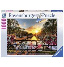 Ravensburger Puzzels Fietsen in Amsterdam