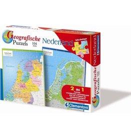 Clementoni Puzzels Geographische Legpuzzel Nederland