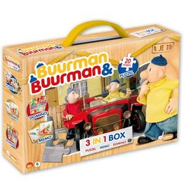 Just Games Buurman & Buurman Spellenbox 3 in 1