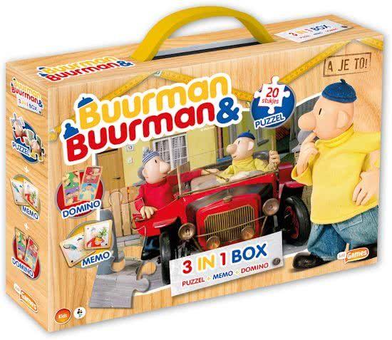 Just Games Buurman & Buurman Spellenbox 3 in 1