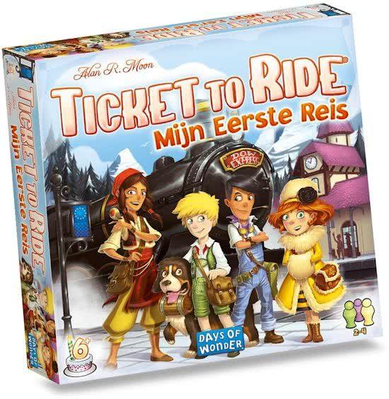 Days of Wonder Ticket to Ride Mijn Eerste Reis Bordspel