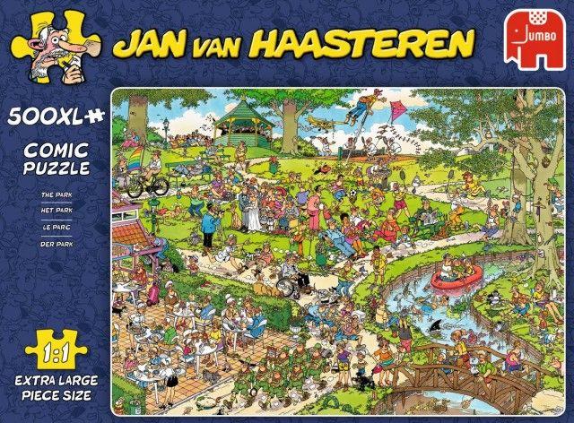 Jan van Haasteren Puzzels Jumbo Jan van Haasteren Het Park Legpuzzel 500XL stukjes