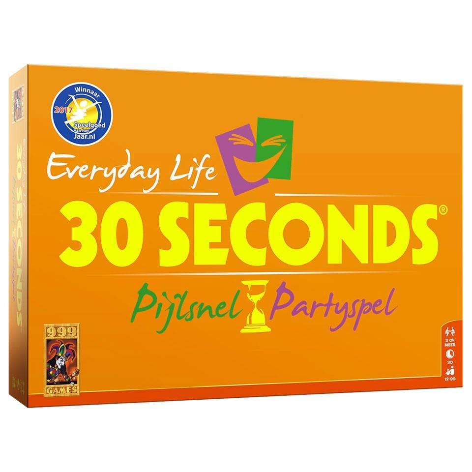 999 Games 30 Seconds Everyday Life Bordspel