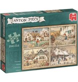 Anton Pieck Puzzels Jumbo Anton Pieck Vier Seizoenen Legpuzzel 1000 stukjes