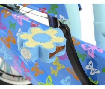 Popal Pedaal bloem blauw(set)