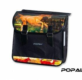 Popal Fietstas Paarden
