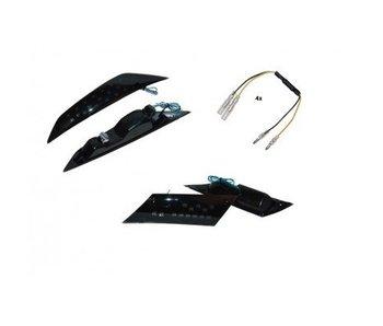 Led Knipperlichtset Zip Smoke inclusief montagen