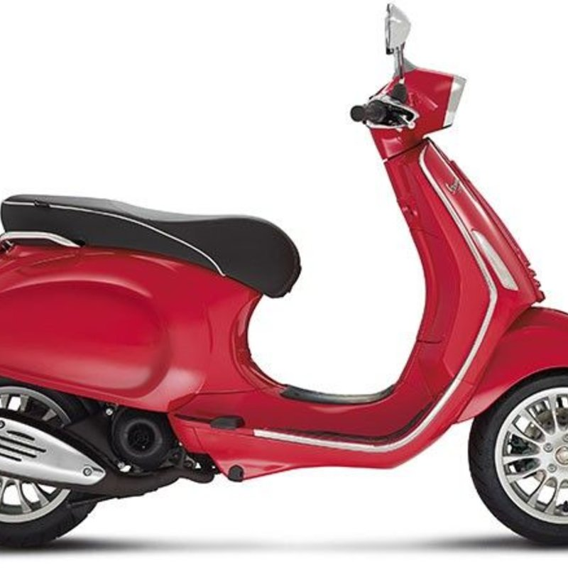 Vespa Sprint 50 4T rood