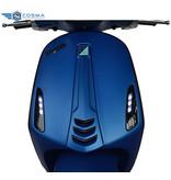 Vespa Sprint 4T Custom Mat Blauw