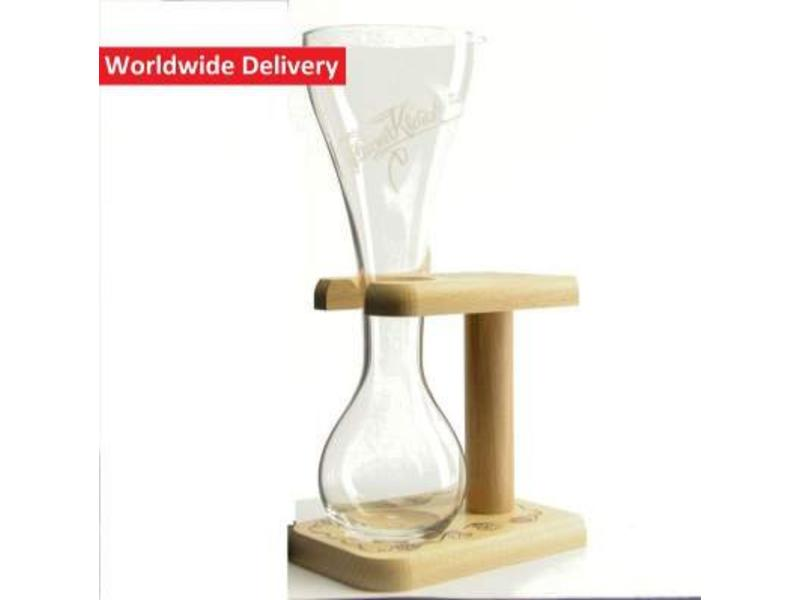 G Pauwel Kwak Beer Glass