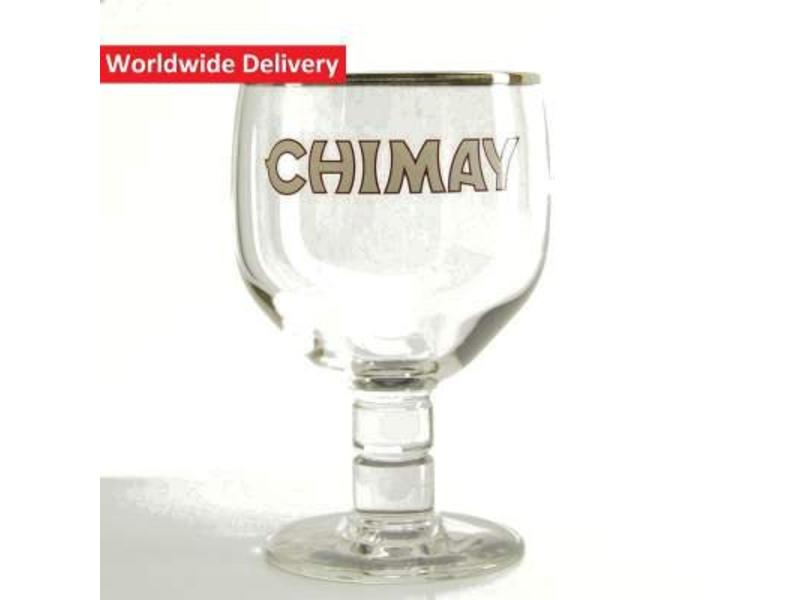 G Chimay Trappist Beer Glass